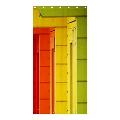 Abstract Minimalism Architecture Shower Curtain 36  X 72  (stall)  by Simbadda