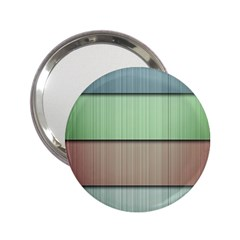 Lines Stripes Texture Colorful 2 25  Handbag Mirrors by Simbadda