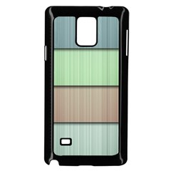 Lines Stripes Texture Colorful Samsung Galaxy Note 4 Case (black) by Simbadda