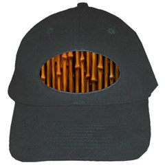 Abstract Bamboo Black Cap by Simbadda