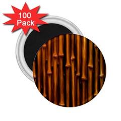 Abstract Bamboo 2 25  Magnets (100 Pack)  by Simbadda