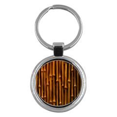 Abstract Bamboo Key Chains (round)  by Simbadda