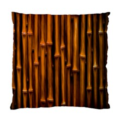 Abstract Bamboo Standard Cushion Case (one Side)