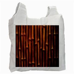 Abstract Bamboo Recycle Bag (one Side) by Simbadda