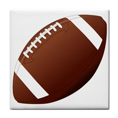 Football American Sport Ball Tile Coasters by Alisyart