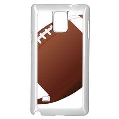 Football American Sport Ball Samsung Galaxy Note 4 Case (white) by Alisyart