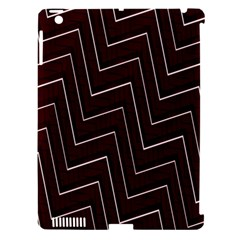 Lines Pattern Square Blocky Apple Ipad 3/4 Hardshell Case (compatible With Smart Cover) by Simbadda