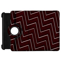 Lines Pattern Square Blocky Kindle Fire Hd 7  by Simbadda