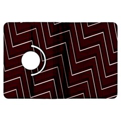 Lines Pattern Square Blocky Kindle Fire Hdx Flip 360 Case by Simbadda