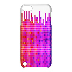 Square Spectrum Abstract Apple Ipod Touch 5 Hardshell Case With Stand by Simbadda