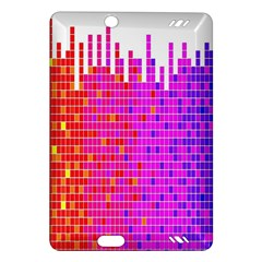 Square Spectrum Abstract Amazon Kindle Fire Hd (2013) Hardshell Case by Simbadda