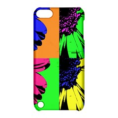 Flower Pop Sunflower Apple Ipod Touch 5 Hardshell Case With Stand by Alisyart