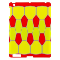Football Blender Image Map Red Yellow Sport Apple Ipad 3/4 Hardshell Case by Alisyart