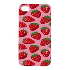 Fruit Strawbery Red Sweet Fres Apple Iphone 4/4s Hardshell Case by Alisyart