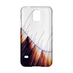 Abstract Lines Samsung Galaxy S5 Hardshell Case  by Simbadda