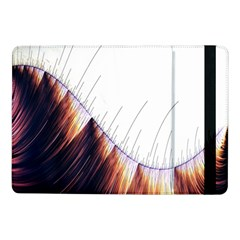 Abstract Lines Samsung Galaxy Tab Pro 10 1  Flip Case by Simbadda