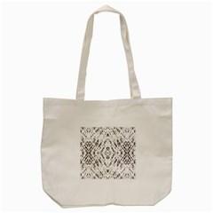 Pattern Monochrome Terrazzo Tote Bag (cream) by Simbadda