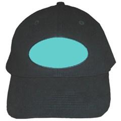 Grey Wave Water Waves Blue White Black Cap by Alisyart