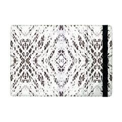 Pattern Monochrome Terrazzo Ipad Mini 2 Flip Cases by Simbadda