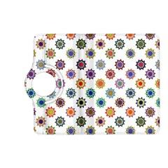 Flowers Color Artwork Vintage Modern Star Lotus Sunflower Floral Rainbow Kindle Fire Hd (2013) Flip 360 Case by Alisyart