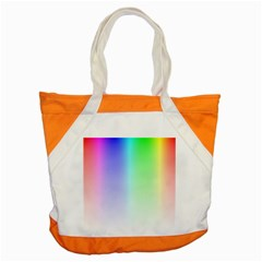 Layer Light Rays Rainbow Pink Purple Green Blue Accent Tote Bag by Alisyart