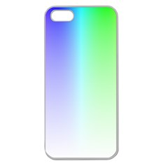 Layer Light Rays Rainbow Pink Purple Green Blue Apple Seamless Iphone 5 Case (clear) by Alisyart