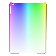 Layer Light Rays Rainbow Pink Purple Green Blue Ipad Air Hardshell Cases by Alisyart