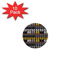 Football Uniforms Team Clup Sport 1  Mini Buttons (10 Pack)  by Alisyart