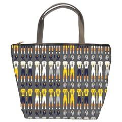 Football Uniforms Team Clup Sport Bucket Bags by Alisyart