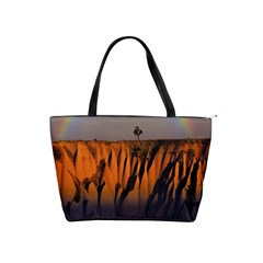 Rainbows Landscape Nature Shoulder Handbags by Simbadda