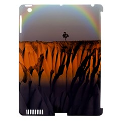 Rainbows Landscape Nature Apple Ipad 3/4 Hardshell Case (compatible With Smart Cover) by Simbadda