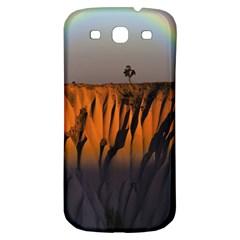 Rainbows Landscape Nature Samsung Galaxy S3 S Iii Classic Hardshell Back Case by Simbadda