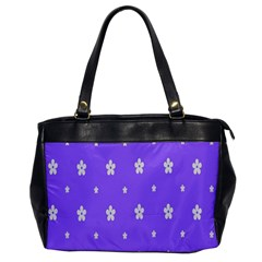 Light Purple Flowers Background Images Office Handbags by Alisyart