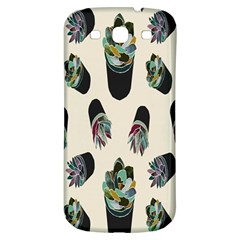 Succulent Plants Pattern Lights Samsung Galaxy S3 S Iii Classic Hardshell Back Case by Simbadda