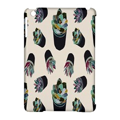 Succulent Plants Pattern Lights Apple Ipad Mini Hardshell Case (compatible With Smart Cover) by Simbadda