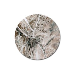Earth Landscape Aerial View Nature Magnet 3  (round) by Simbadda