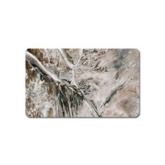 Earth Landscape Aerial View Nature Magnet (name Card) by Simbadda