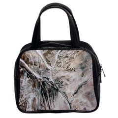 Earth Landscape Aerial View Nature Classic Handbags (2 Sides) by Simbadda