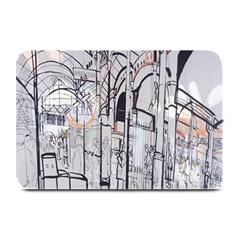 Cityscapes England London Europe United Kingdom Artwork Drawings Traditional Art Plate Mats by Simbadda