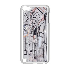 Cityscapes England London Europe United Kingdom Artwork Drawings Traditional Art Apple Ipod Touch 5 Case (white) by Simbadda