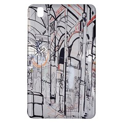 Cityscapes England London Europe United Kingdom Artwork Drawings Traditional Art Samsung Galaxy Tab Pro 8 4 Hardshell Case by Simbadda