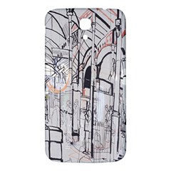 Cityscapes England London Europe United Kingdom Artwork Drawings Traditional Art Samsung Galaxy Mega I9200 Hardshell Back Case by Simbadda