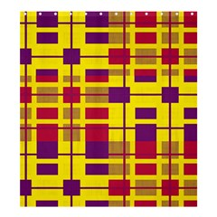 Pattern Shower Curtain 66  X 72  (large)  by Valentinaart