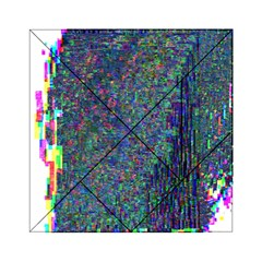 Glitch Art Acrylic Tangram Puzzle (6  X 6 ) by Simbadda