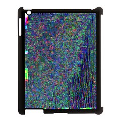 Glitch Art Apple Ipad 3/4 Case (black) by Simbadda