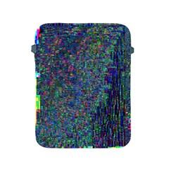 Glitch Art Apple Ipad 2/3/4 Protective Soft Cases by Simbadda