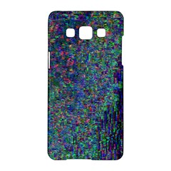 Glitch Art Samsung Galaxy A5 Hardshell Case  by Simbadda