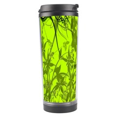 Concept Art Spider Digital Art Green Travel Tumbler by Simbadda
