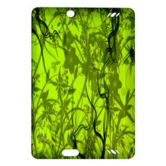 Concept Art Spider Digital Art Green Amazon Kindle Fire Hd (2013) Hardshell Case by Simbadda