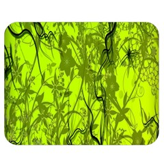 Concept Art Spider Digital Art Green Double Sided Flano Blanket (medium)  by Simbadda